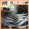 Grau 201 202 cordas de arame de aço inoxidável