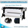 4 cabeças de impressão da impressora a jato de tinta de alta velocidade para a indústria do vestuário
