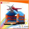 Bouncer de salto do Moonwalk do avião inflável para os miúdos (T1-009)