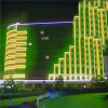 Indicatore luminoso di striscia indirizzabile della decorazione LED RGB della grande costruzione con il regolatore