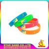 Fabricante profesional de Deporte Pulsera de silicona pulseras pulsera de silicona de colores