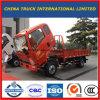 경트럭 또는 소형 트럭 또는 평상형 트레일러 화물 트럭