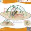 Structure en acier de plein air de l'escalade avec toboggan pour les enfants HX1503s