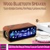 5009 Madeira Falshlight portátil sem fio Mini colunas Bluetooth