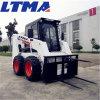 China carregadora de rodas 500kg 700kg 850kg Mini carregadora de direção deslizante