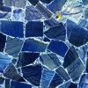 Синий камень с подсветкой Aventurine слоя для борьбы с верхней части