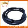Tuyaux d'air flexibles à haute pression de PVC de noir bleu