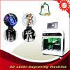 Machine de gravure en cristal de laser du cadeau 3D