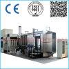 El stand de pulverización manual con sistema de recuperación en la línea de revestimiento en polvo