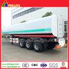 Tri essieu 50000 litres de camion-citerne de réservoir de carburant de camion de remorque semi