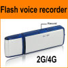 Einfacher Operation USB Drive Voice Recorder, 2g Can Recorder 120 Hours