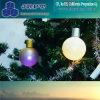 Boule au néon de salutation de Noël de la vente chaude DEL de batterie
