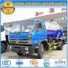 4X2 155kw 최신 판매 진공 트럭 8000 L 흡입 하수 오물 트럭 가격