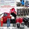 Cilindro hidráulico de caminhão de descarga/grua do Tipper/reboque/descarregador
