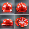 Adjustable Harness Red Shell Head Protection Helmet (SH503)