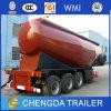 3 Aanhangwagen van de Vrachtwagen van de Carrier van de Tanker van het Poeder van het Cement van de as 35m3 de Bulk
