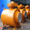 API 6D Forged Steel 3PC Trunnion Ball Valve