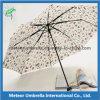 Manera Folding Super Slim Printed Pencil Bag Umbrella con Customed Artworks