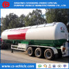 Tri-Axle 20 toneladas de gas GLP Semi-Trailer cisterna 25 toneladas remolque cisterna de gas