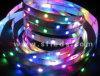 5m 5V 60LED/M 300LEDs Individually Addressable Magic Dream Color LED Strip Waterproof IP67 Apa102c Apa102 LED Strip Bar