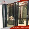 De kwaliteit Gewaarborgde Dubbele Aangemaakte bi-Vouwende Schuifdeur van het Aluminium van het Glas