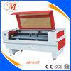 Double machine de découpage de laser de tête avec l'emplacement de travail de 1800*1000mm (JM-1810T)