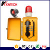 Teléfono Emergency ferroviario del teléfono de la industria química del teléfono del túnel con el altavoz