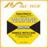 De Indicator van de Schok van Shockwatch 25g in de Verpakking van Etiketten