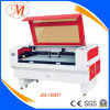 Découpage de laser de CO2 ou machine de gravure pour le tissu (JM-1580T)
