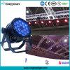 A PARIDADE ao ar livre do diodo emissor de luz de 18PCS 10W RGBW 4in1 DMX pode iluminar-se