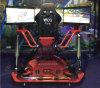2017 nuevo simulador 6 Dof del coche de competición de la pantalla de las máquinas de juego de arcada 3 que compite con juegos