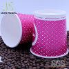 SGS zugelassene preiswerter Kaffee-Papiercup mit PS-Kappe