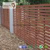 Cerca compuesta de madera material del jardín de WPC