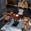 A mobília de madeira do restaurante ajustou-se com a cadeira de Upholstery da tela e a tabela do quadrado (SP-CT796)