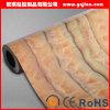 Papel pintado movido hacia atrás no tejido barato de la flor del PVC del precio de la alta calidad clásica más nueva del diseño