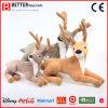 중국 현실적 연약하거나 채운 견면 벨벳 사슴 장난감