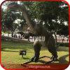 テーマパークの恐竜のツーコンAnimatronicの恐竜