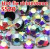 Vlak AchterBergkristallen in Bluk Ss20 Bergkristal van de Moeilijke situatie van het Kristal Ab het niet Hete (fB-Ss20 kristal ab/4A)