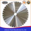 lamierina concreta del diamante saldata laser di 600mm per il taglio del calcestruzzo prefabbricato
