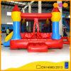 Gorila de salto inflable del castillo rojo simple para la comunidad (AQ02307)