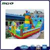 Ciudad inflable de la diversión de la diapositiva del castillo de los juguetes para el parque de atracciones
