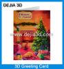 Saludo lenticular Card-Dejia3d del día de la Navidad
