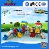 Het populairste Kleurrijke Gebruikte Commerciële Speelgoed van de School van het Spel van de Dia's van de Speelplaats