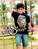 Детей в одежде / детской одежды / мальчика футболка (CH0046)
