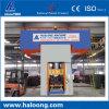 Doppeltes fährt den 1200 Tonnen-Ziegelstein, Zeile mit materiellem Verteilersystem produzierend