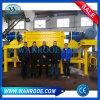 Eixo Duplo Tubo/FILME/garrafa/saco/palete de madeira/Cartão/TDF/pneu/Máquina Triturador de plástico de Reciclagem de Metal