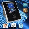 Système biométrique d'assistance de temps de carte d'IDENTIFICATION RF de visage de WiFi de 3 pouces TFT
