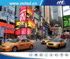 China tres pedazos que hacen publicidad de la visualización de LED