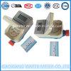 Medidor de água Purified potável do cartão residencial esperto do RF
