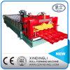 熱い販売は中国の機械を形作るタイルロールを艶をかけた